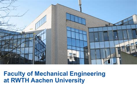 RWTH Aachen University Henry Ford Scholarships in Germany