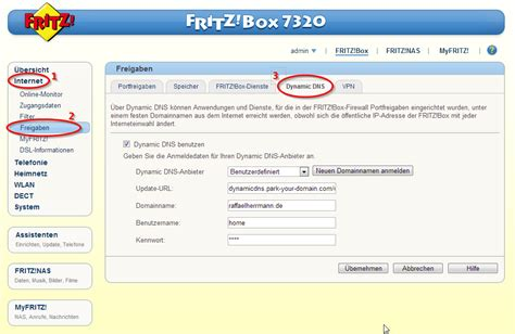 How to configure Namecheap DynDNS in Fritzbox
