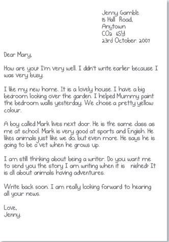 Informal Letters :: English is fun!