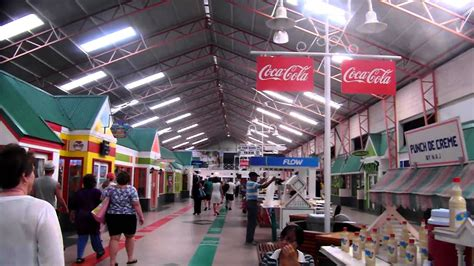 The Shopping Hall/Cruise Terminal on the Island of