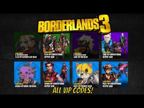 Borderlands 3 All Working VIP & Shift Codes | Over 20,000