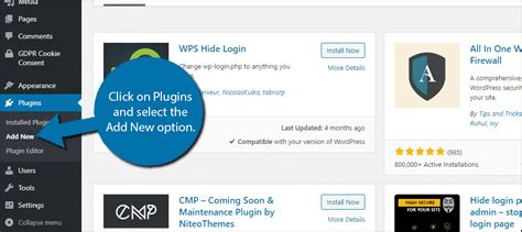 How to Use WPS Hide Login to Protect the WordPress Admin