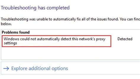 Fix: 'Windows Could not Automatically Detect Network's