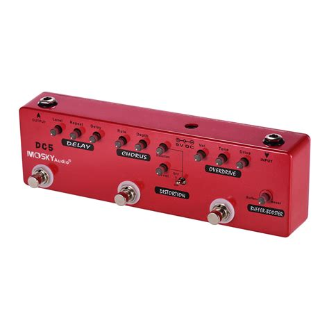MOSKY Audio Guitar Multi-Effect Distortion Overdrive