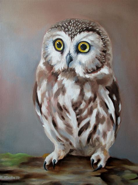 Saw Whet Owl by TernFeather on DeviantArt