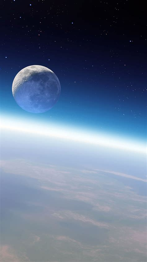 mb08-wallpaper-earth-and-moon-space - Papers