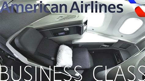 American Airlines BUSINESS CLASS London to Chicago|787