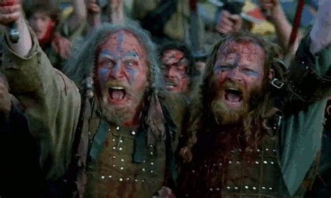 Mel Gibson Braveheart GIF - Find & Share on GIPHY