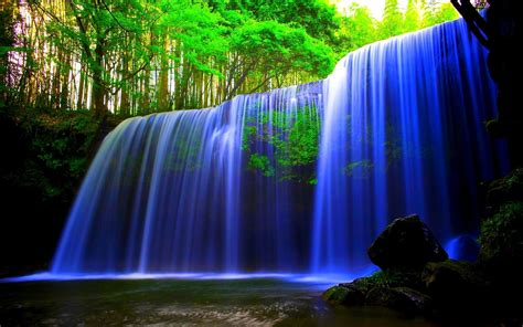 Waterfall Full HD Wallpaper and Background Image