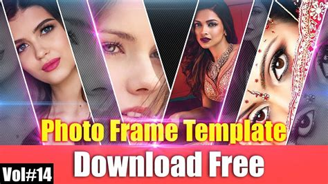 Awesome Photo Frame Templates For Photoshop Download Free