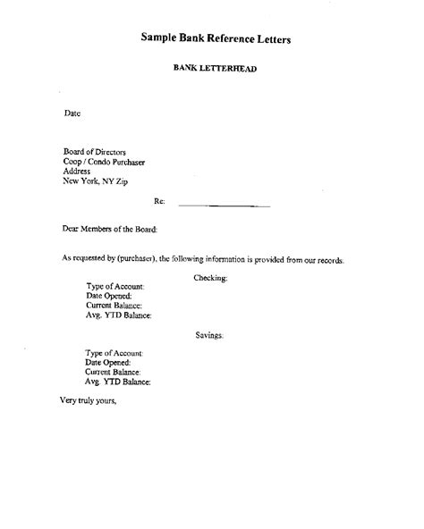 Download Business Reference Letter For Apartment for Free