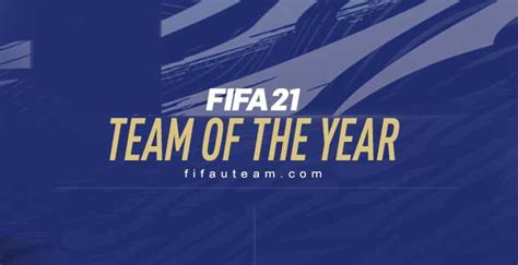 Vote for the TOTY of FIFA 21 Ultimate Team - The Best
