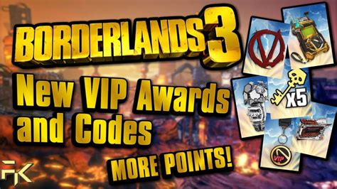 Borderlands 3 | EARN MORE VIP POINTS! | New VIP Codes and