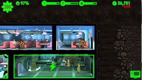 Fallout Shelter - Deathclaw attack - YouTube